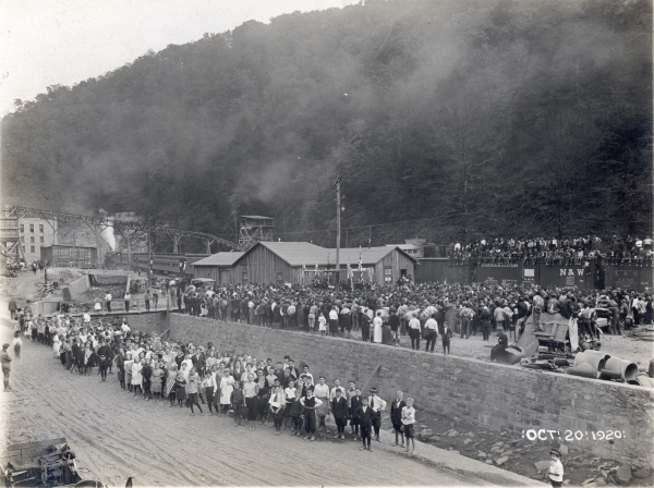 Lynch was considered one of the premier Appalachian coal mining towns in the US.