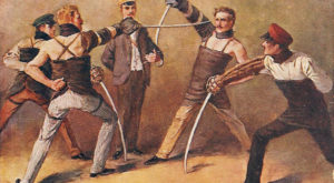 6. A person may not hold public office if he or she has ever participated in a duel.
