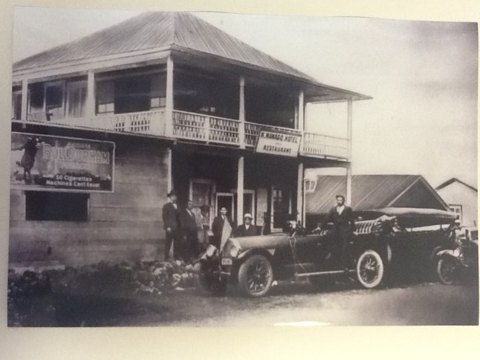 The hotel was established nearly a century ago with two cots and a handful of futons, and has since been expanded to include 64 guest rooms.