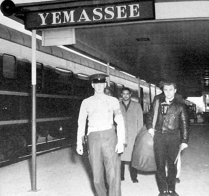 From 1915 to 1965 Yemassee Station was where new Marine recruits landed on their way to Parris Island.
