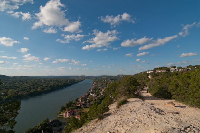 9. Take in Mount Bonnell's jaw-dropping views.