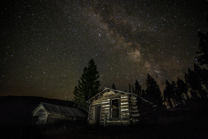 12. The stars come out at night at Garnet Ghost Town, and the summer sky is especially clear.