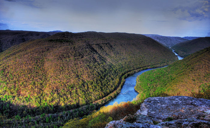 6. The New River Gorge