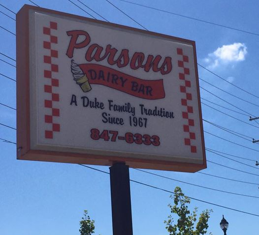 1. Parsons Dairy Bar - Parsons