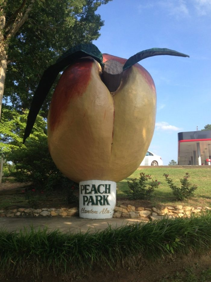 And finally, don't forget to have your picture taken in front of Peach Park's famous giant peach. It's an absolute must when visiting this Alabama tourist attraction.