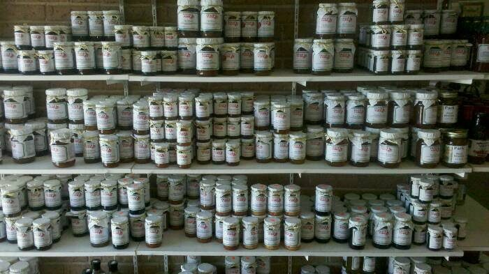 As you get ready to leave, don't forget to check out Peach Park's  wonderful selection of homemade jams and jellies.