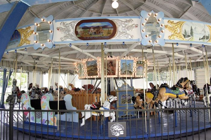 But its crowning jewel is a vintage wooden carousel dating back to Roaring 20s.