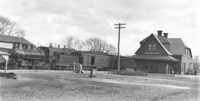 4. Georgetown Train Station, 1920s