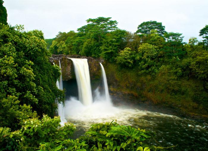 6. Rainbow Falls