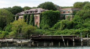 Nature Is Reclaiming This Island Of Ruins In New York