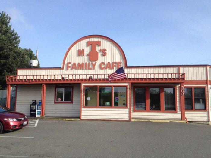 2. Mr. T's Family Cafe, Mount Vernon