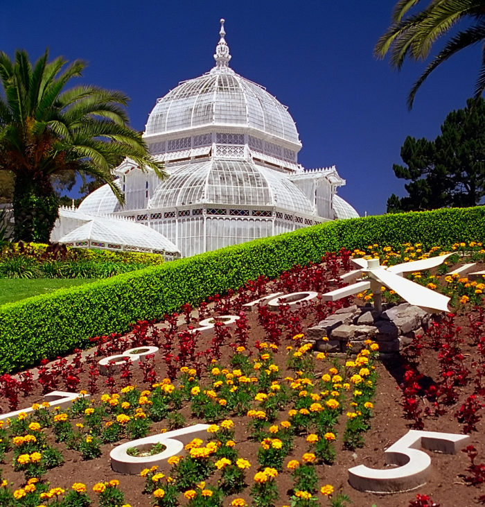 9. Explore the Conservatory of Flowers.