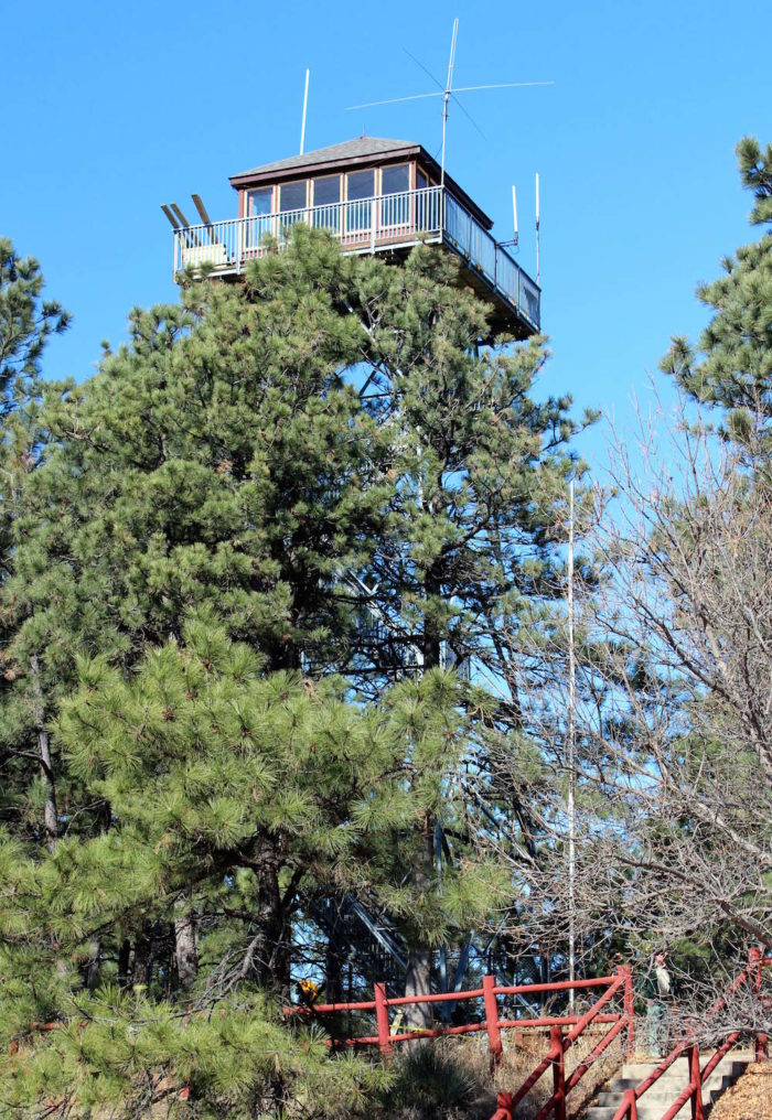 The tower was showing its age, so it was closed back in 2009 for some much-needed repairs. It was opened to visitors again in spring of 2012.