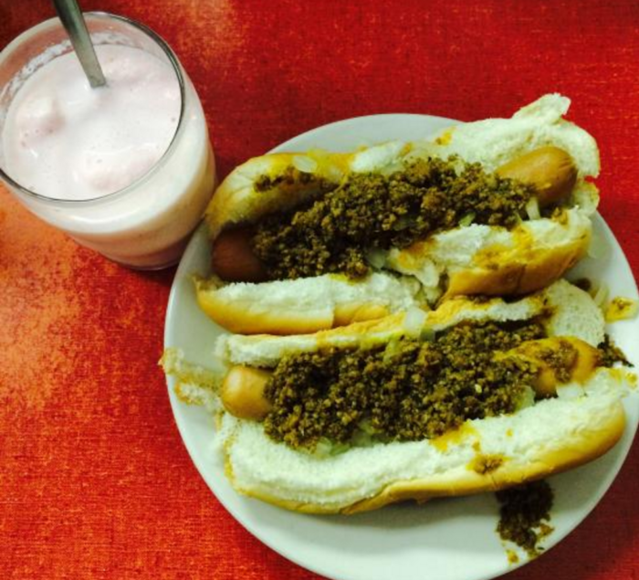 Customers swear that the coneys are as good as (better than?) those that you'll find at east coast diners. Flavorful hot dogs, mustard, onions, and perfectly seasoned meat sauce all combine on the bun to make for one of the most satisfying meals you'll ever have.