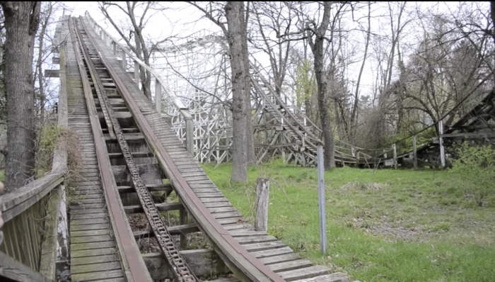 This amusement park opened to the public in 1928, though the park's history goes back decades before that.