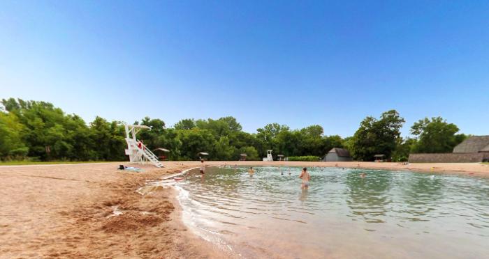9. Flandrau State Park Pool