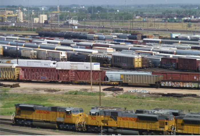 Whether you're a train enthusiast or not, this is really a fascinating experience. You never quite understand just how complex the railroad system is until you see all of these trains in action, rolling around to be classified and serviced and sent on their way.