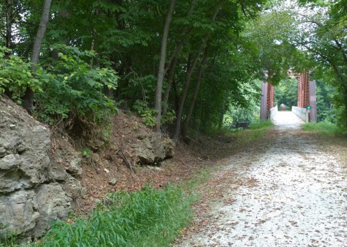 4. Bike, run or walk along the Katy Trail.
