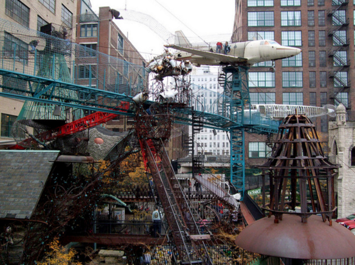 6. Visit and play at the St. Louis City Museum.