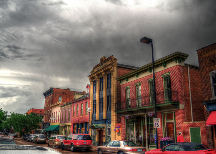 7. Explore historic downtown St. Charles.