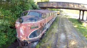 Step Inside This Eerie Graveyard Where Decommissioned Trains Go To Die