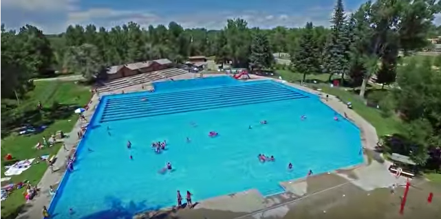 The Biggest Swimming Pool In Wyoming
