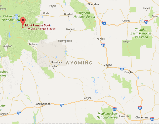 The Most Remote Spot In The United States Is In Wyoming