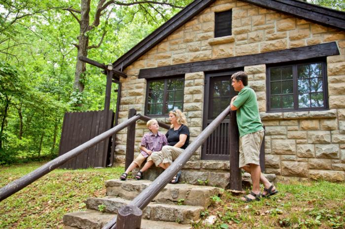 4. Missouri State Parks Cabins