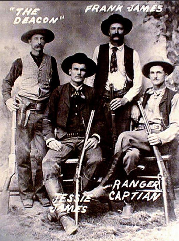 1. American bandit Jesse James did not die by bullet..