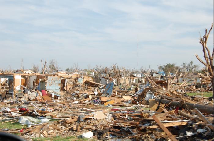 2. Joplin tornado was man-made...