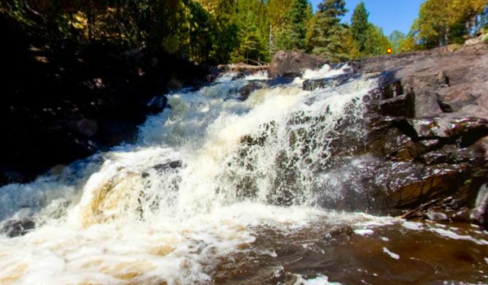 1/2 mile from the parking lot, you'll find the first of the secluded, stunning campsites beside the falls.