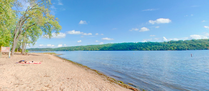 You'll find gorgeous swimming beaches and excellent fishing spots...