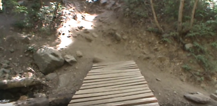 As you near the falls, the rocky climb gets steep again.