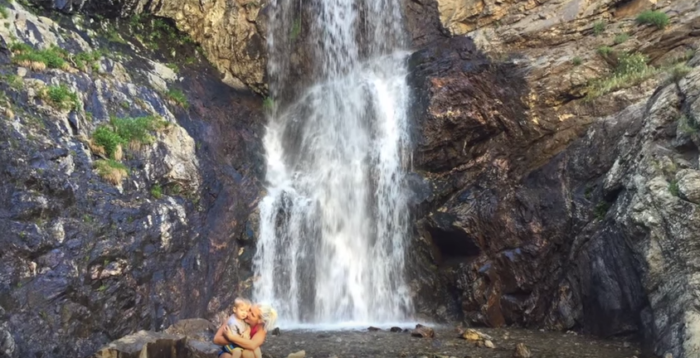 This hike is 3.8 miles round trip, but the gorgeous waterfall at the end makes it worth every step.