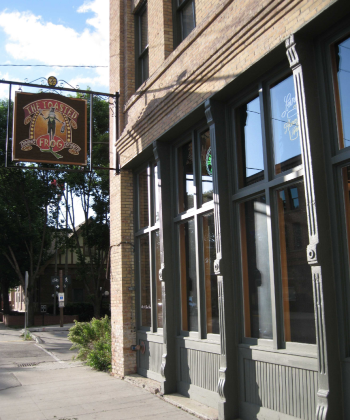 3. The Toasted Frog - Grand Forks