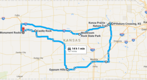 This Natural Wonders Road Trip Will Show You Kansas Like You've Never Seen It Before