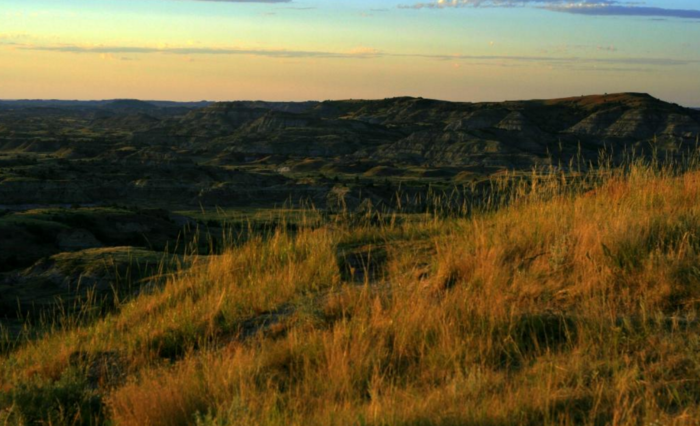 7. The Painted Canyon Overlook has by far one of the most awesome views in North Dakota.