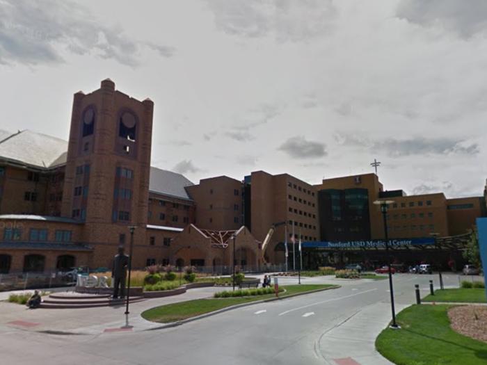 2. Sanford USD Medical Center - Sioux Falls