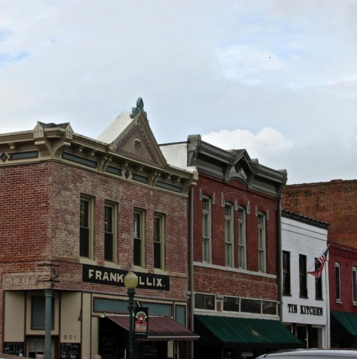 1. Weston - Population 1,703