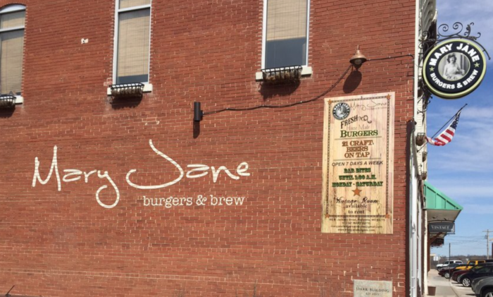 5. Mary Jane Burgers & Brew - Perryville