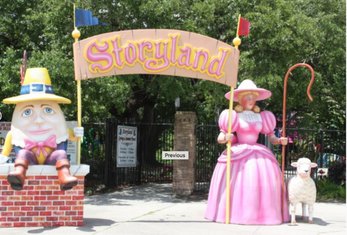 Visiting Storyland is a surefire way to bring a smile to your little one's face.