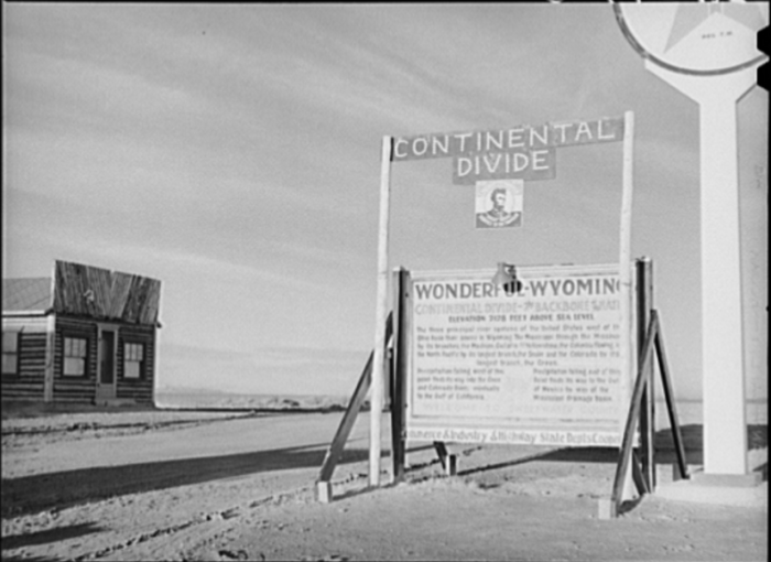 7. Continental Divide, Sweetwater County