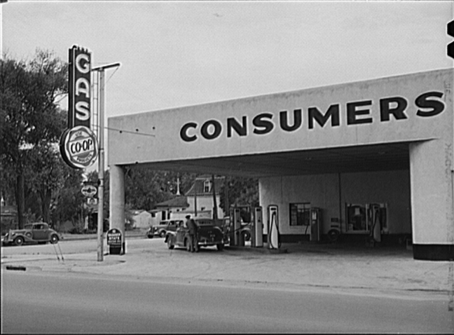 8. Cooperative Gas Station And Lunch Room, Laramie