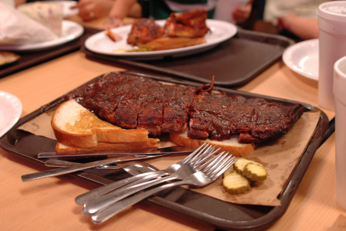 2. Claim their state's BBQ is better than Missouri's.