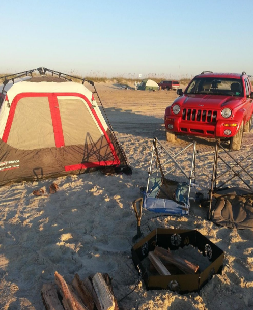 7 Beautiful Beach Campgrounds In North Carolina