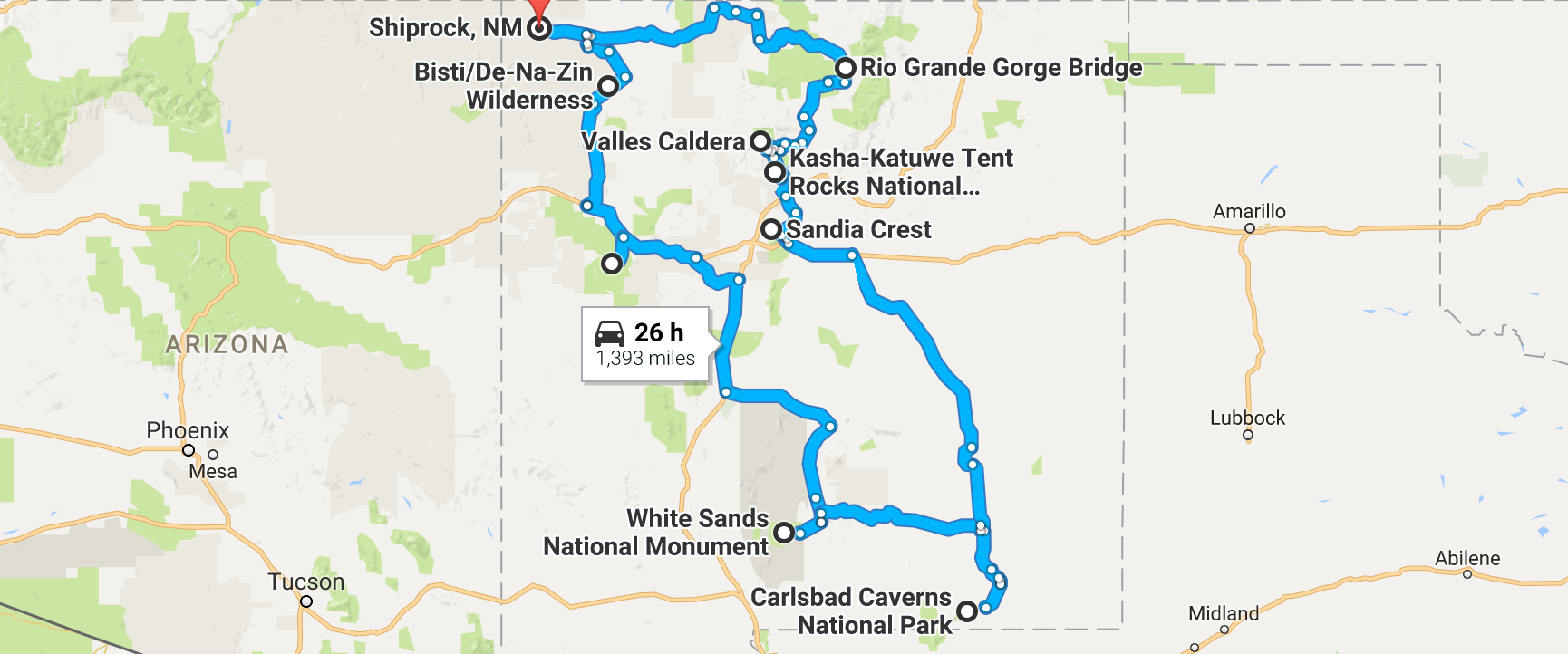 Take This Road Trip To See 9 Natural Wonders Of New Mexico