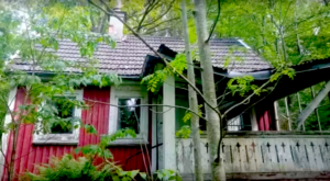 There's Something Haunting About This Untouched Abandoned Cabin In The Woods