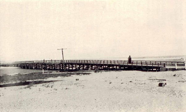 The first Indian River Inlet Bridge was built in 1934