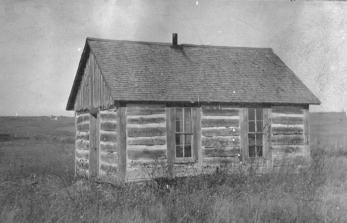 19. Log building, Cherry County