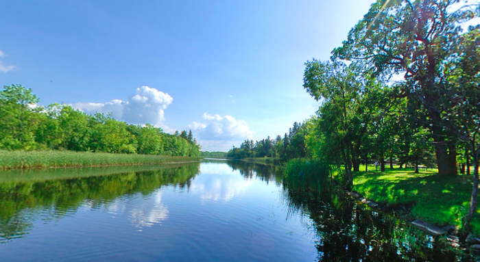 Pine Island State Forest is the largest of all 58 state forests in MN, and the land is mostly undeveloped.